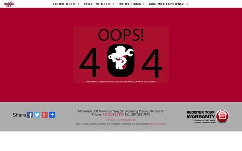 Screenshot of Press Page minimizer.com - Page not found | Minimizer - captured Aug. 17, 2015