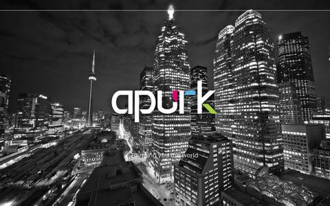 Screenshot of Home Page apurk.com captured Oct. 4, 2014