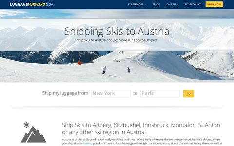 Shipping Skis to Austria | Ship Skis to Austria