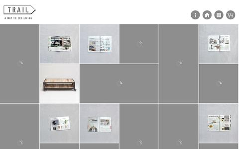 Screenshot of Home Page trail-home.com - TRAIL / 小路家具 - captured Oct. 7, 2014