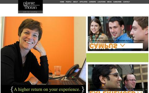 Screenshot of Jobs Page plantemoran.com captured Sept. 19, 2014