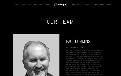 Screenshot of Team Page telegael.com - Our Team — Telegael - captured Sept. 21, 2018