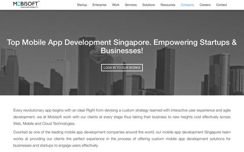 Mobile App Development Singapore. iOS & Android App Developers