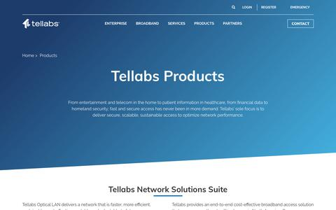 Products – Tellabs