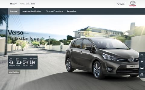Verso Overview & Features | Diesel - Toyota Europe