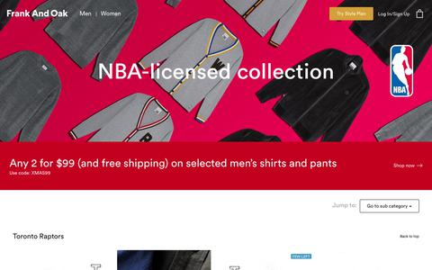 NBA Collection | Frank And Oak