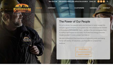 Screenshot of Team Page suburbanelectric.com - Our People - Suburban Electric - captured Oct. 18, 2018