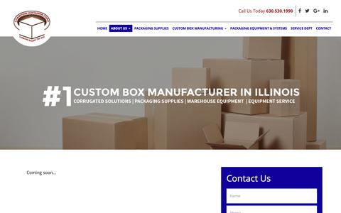 Screenshot of Team Page champion-container.com captured Sept. 27, 2018