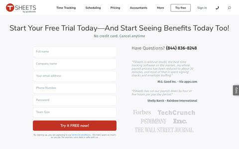 Track Employee Time with the Online Timesheets Leader. Free Trial!