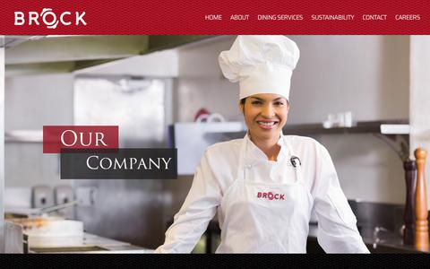 Screenshot of About Page brockco.com - About Brock & Company, Inc. - captured Sept. 24, 2018