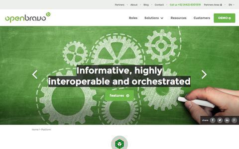 Openbravo Technology Platform | Retailers