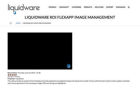 Screenshot of Team Page liquidware.com - ROI FlexApp Image Management - Liquidware - captured Dec. 14, 2019