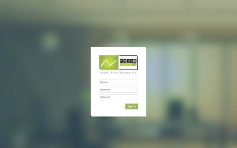 Screenshot of Login Page adps.nl - Login - captured Oct. 4, 2014