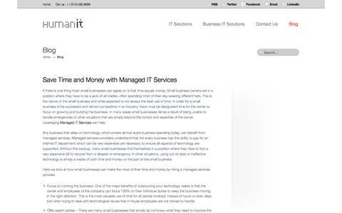 Blog | HumanIT  |  Multi-platform systems integrators  |  Montreal, Quebec, Canada