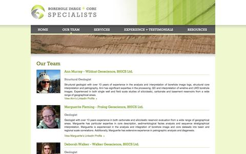Screenshot of Team Page bhics.co.uk - Our Team | BHICS - captured Oct. 1, 2014