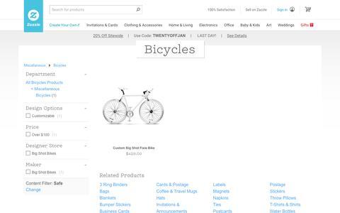 Big Shot Bicycles | Zazzle