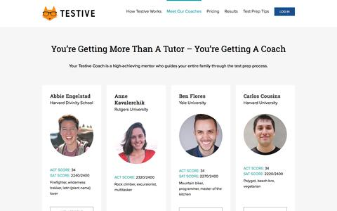 Meet Our Coaches - Testive