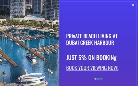Screenshot of Home Page ushre.com - Best Real Estate Agency in Dubai, UAE | Union Square House - captured Nov. 16, 2018