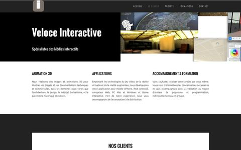Screenshot of About Page veloceinteractive.com - Services | Veloce Interactive - captured Oct. 26, 2014