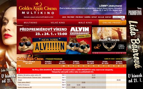 Golden Apple Cinema - Multikino ZlĂ­n - Program