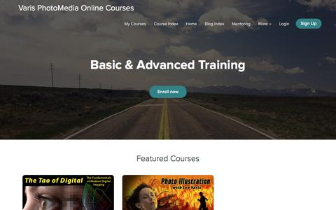 Varis PhotoMedia Online Courses