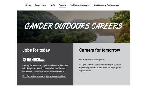 Careers | Gander Outdoors