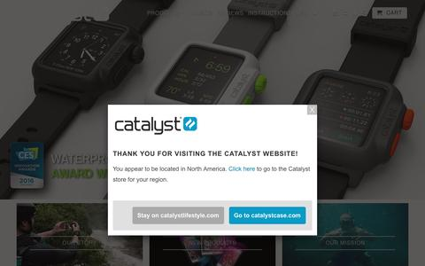 Waterproof iPhone cases for all of Life's Adventures by Catalyst