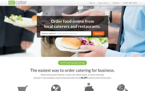 ezCater | Nationwide Business Catering From Local Caterers