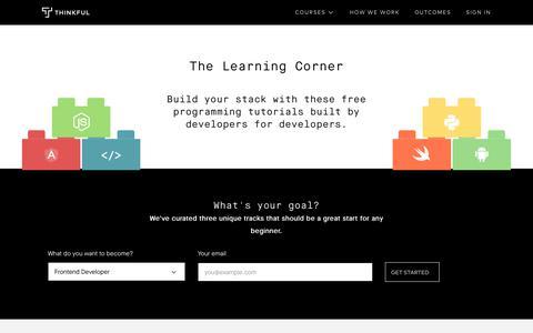 Free programming and design tutorials · Thinkful