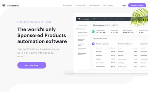 Sponsored Products Optimizer