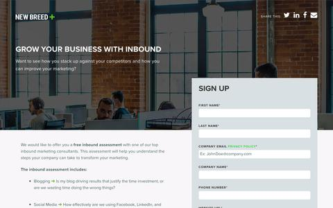 Inbound Assessment | New Breed