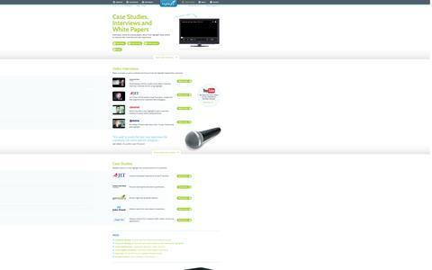Screenshot of Case Studies Page net-evidence.com - Case Studies - NetEvidence - captured Sept. 30, 2014