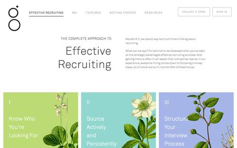 Recruiting Software - Applicant Tracking System | Greenhouse Software