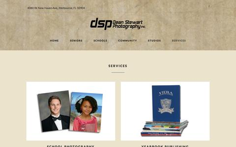 Screenshot of Services Page dsp-photo.com - index - captured Nov. 24, 2016