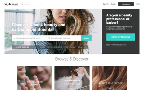 StyleSeat - Online Booking for Hair Stylists & Beauty Professionals
