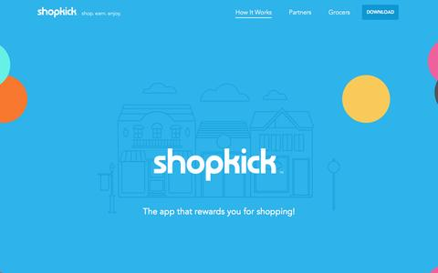 How It works | shopkick