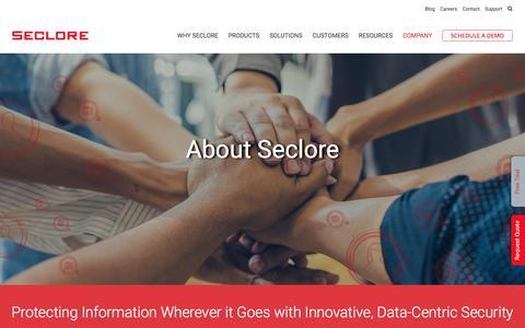 Company - Seclore
