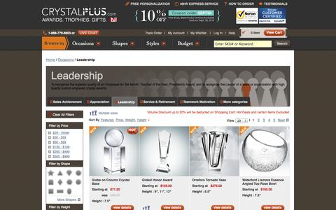 Screenshot of Team Page crystalplus.com - Personalized Crystal Awards, Glass Trophies, Gifts | CrystalPlus.com - captured Sept. 23, 2014