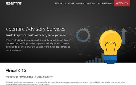 Cyber Security and Regulatory Advisory Services | eSentire
