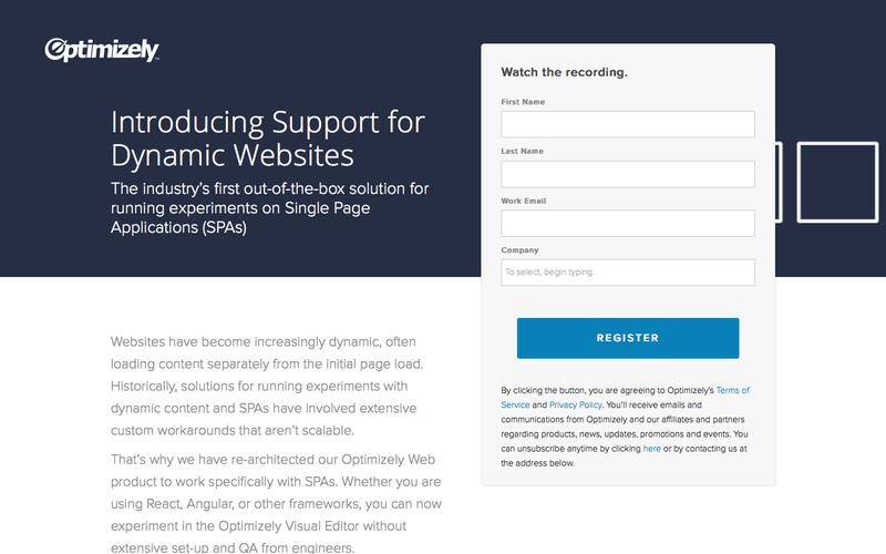Introducing Support for Dynamic Websites