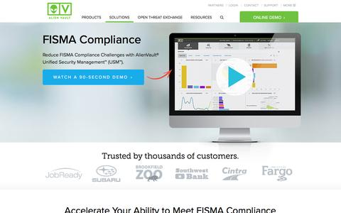 FISMA Compliance | AlienVault