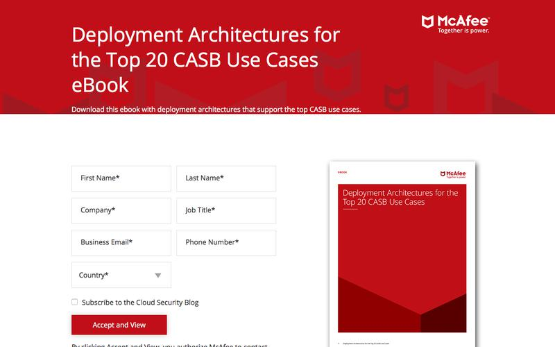 Deployment Architectures for the Top 20 CASB Use Cases eBook