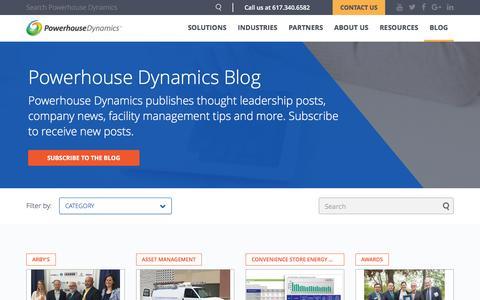 Screenshot of Blog powerhousedynamics.com - Powerhouse Dynamics Blog | Powerhouse Dynamics - captured July 4, 2016