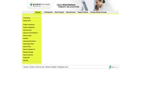 Screenshot of Contact Page gc-services.fr - » - captured Oct. 2, 2014