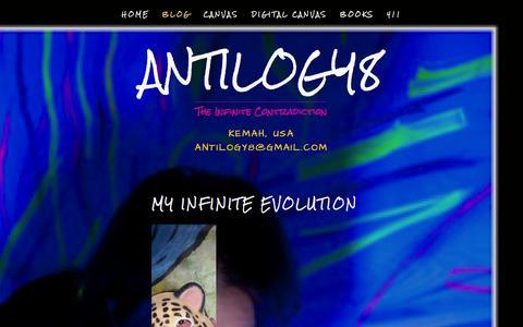 Screenshot of Blog antilogy8.com - bLOg — Antilogy8 - captured Oct. 7, 2014