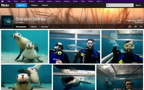 Screenshot of Flickr Page flickr.com - Flickr: Fin Forward's Photostream - captured Oct. 23, 2014