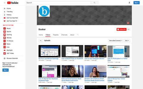 Booker  - YouTube