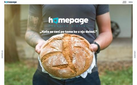 Homepage - Creative Digital Agencija
