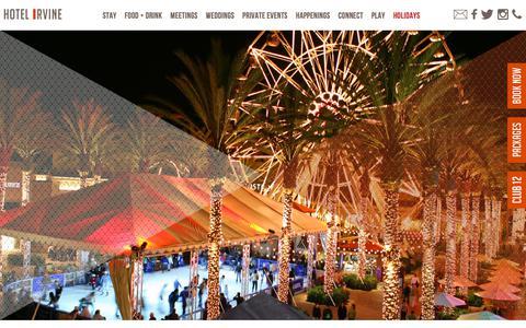 Screenshot of Home Page hotelirvine.com - Irvine Hotels | Hotel Irvine | Hotels near John Wayne Airport - captured Nov. 5, 2018
