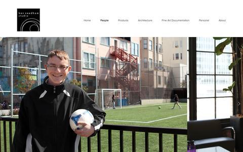 Screenshot of Team Page benneedhamstudio.com - People — Ben Needham Studio - captured Sept. 30, 2014